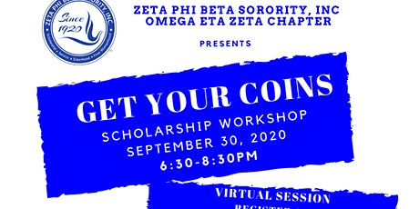 Get Your Coins - Scholarship Workshop tickets