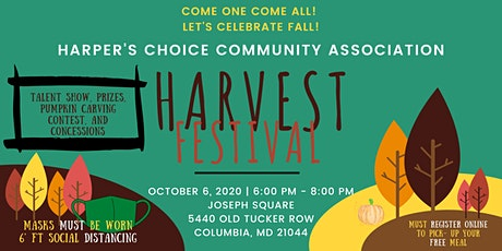 HCCA Harvest Festival (National Night Out) tickets