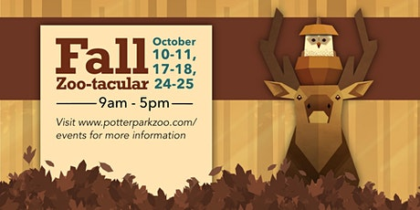 Fall Zootacular Reservation tickets