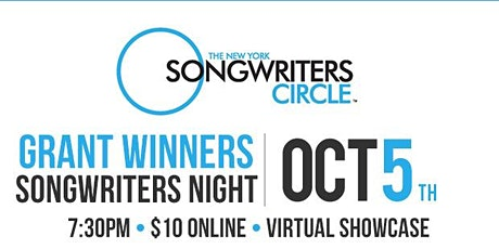 October 5th Songwriter's Circle Grant Winner Show tickets