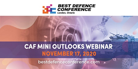 Best Defence Conference - Mini Outlooks Webinar tickets
