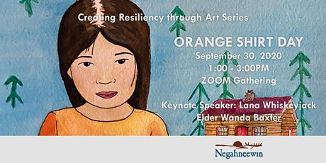 Creating Resiliency through Art Webinar Series - Orange Shirt Day tickets