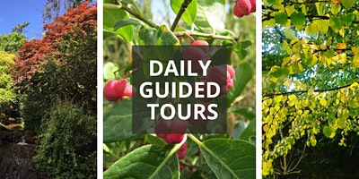 October Daily Guided Tours
