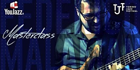 YouJazz Masterclass al Torino Jazz Festival: Federico Malaman biglietti