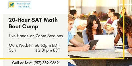 20 hour SAT Math BootCamp - First Free Session tickets