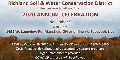 Richland SWCD Annual Celebration 2020 tickets