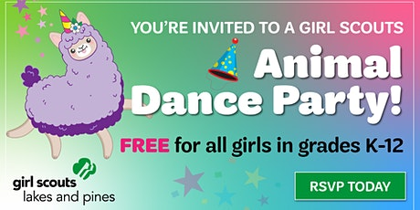 Animal Dance Party: Girl Scout Sign-up (Sebeka) tickets