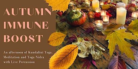 Autumn Immune Boost  - Kundalini Yoga, Nidra, Meditation + Live Percussion tickets