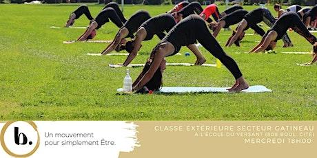b.class® extérieure mercredi secteur Gatineau tickets