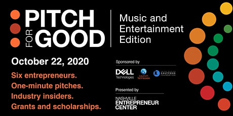 Pitch for Good: Music and Entertainment Edition tickets