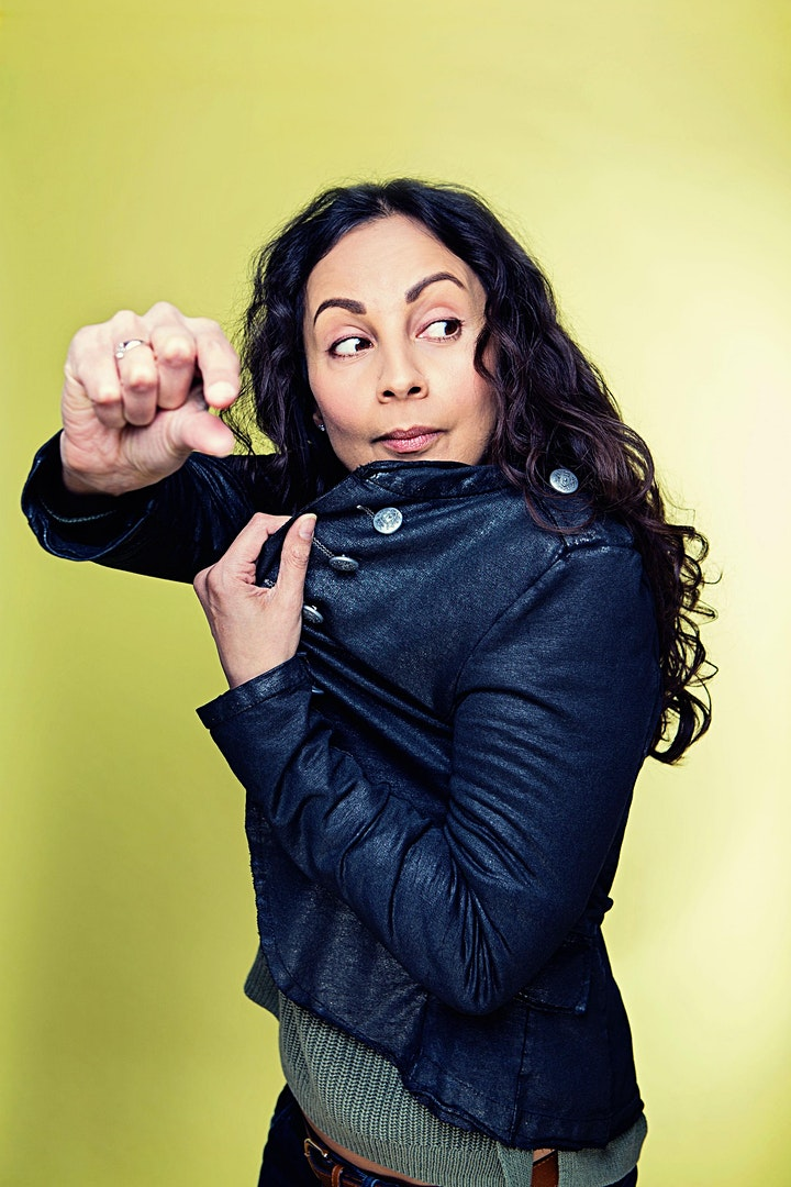 Stand-up comedy - live online featuring Stella Graham image