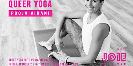 Queer Yoga Discussion Group with Pooja Virani tickets