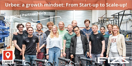 Talk by Niels from Urbee; a growth mindset: From Start-up to Scale-up! tickets