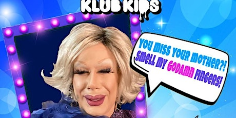 Klub Kids Manchester - JIMBO THE DRAG CLOWN AS JOAN RIVERS: COMEDY SPECIAL tickets