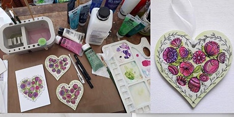 Acrylic Painting & Flower Doodles Workshop tickets