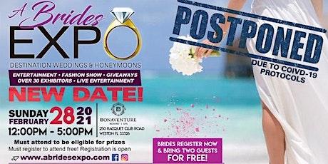 A Brides Expo 2021 tickets