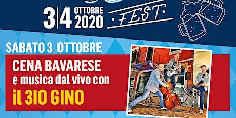 Cena Bavarese Con Il 3io GINO tickets