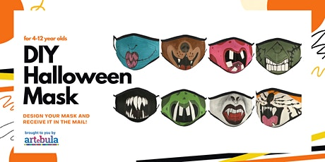 Make a custom Halloween Mask tickets