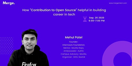 """How """"Contribution to Open Source"""" Helpful in Building Career in Tech tickets"""