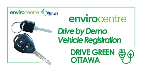 ZEV Drive-By Demo Electric Vehicle Registration tickets