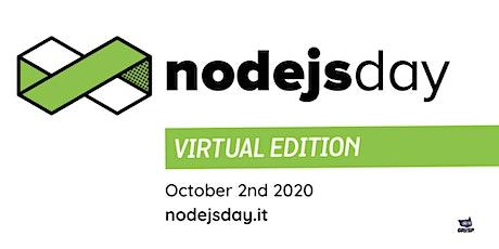 nodejsday 2020 - Virtual Edition tickets