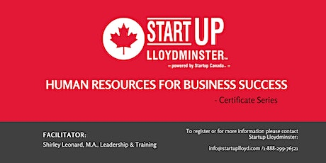 Human Resources for Business Success - Certificate Series tickets