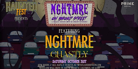 Haunted Fest Presents: NGHTMRE & Ghastly @ Westland Mall Drive-In tickets