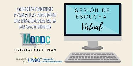 UMKC Instituto para el Desarrollo Humano  Sesión de Escucha Virtual tickets