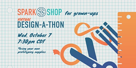 SparkShop for Grown-Ups: 2020 Back-to-School Online Design-a-thon tickets