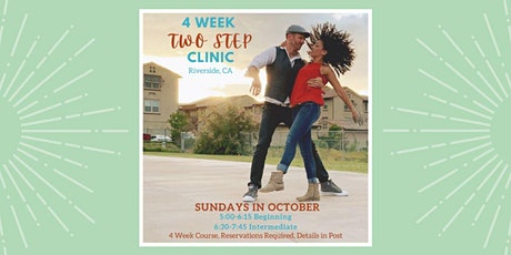 Country Two Step Partner Dance Workshop (4 weeks) tickets