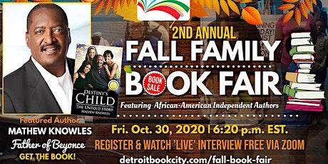 Detroit Book City 2nd Annual Fall Family Book Fair 2020 tickets