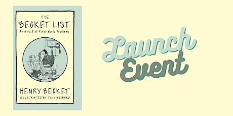 The Becket List Book Launch - Online Obvs... tickets