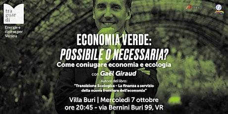 Economia verde: possibile o necessaria? Come coniu biglietti