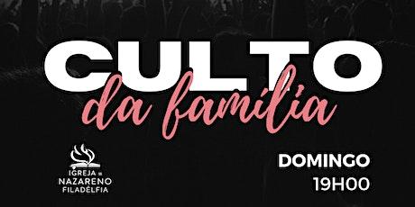 Culto da família - 27/09 - [NOITE] ingressos