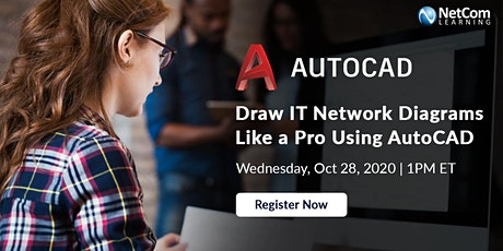 Webinar - Draw IT Network Diagrams Like a Pro Using AutoCAD tickets
