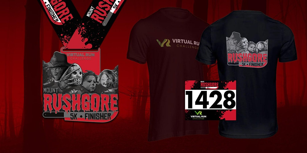 Irving Halloween 2020 2020   Mount RushGore Virtual 5k Halloween Run   Irving