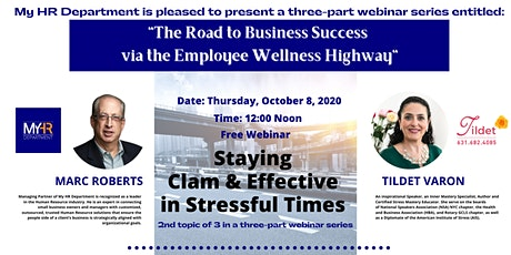 The Road to Business Success via the Employee Wellness Highway- PART 2 tickets
