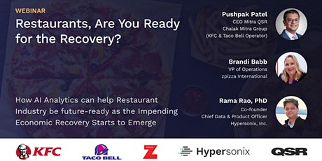 [Webinar] Restaurants, are you ready for the recovery? tickets