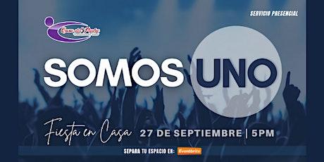Fiesta en Casa: SOMOS UNO tickets