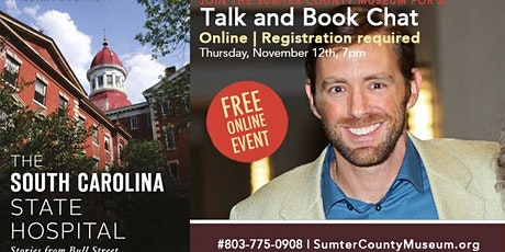 The South Carolina State Hospital, Talk and Book Chat tickets