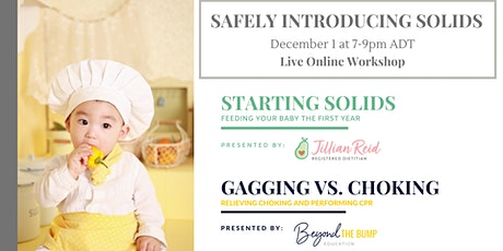 Safely Introducing Solids To Your Infant tickets