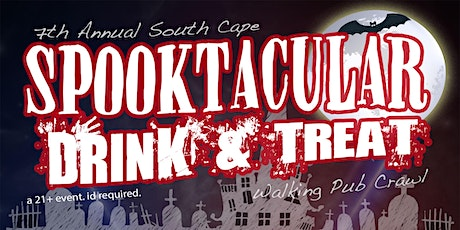 Spooktacular Drink & Treat Pub Crawl tickets