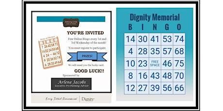 Virtual Bingo Game for Tampa Bay Seniors tickets
