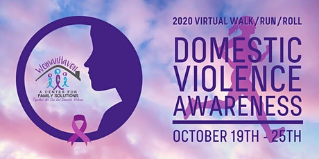 2020 Domestic Violence Awareness Virtual Walk/Run/Roll tickets