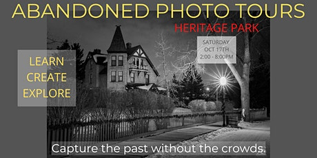 Abandoned Photo Tours:  Heritage Park tickets