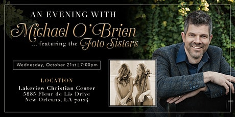 An Evening with Michael O'Brien and The Foto Sisters tickets