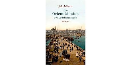 """Online Book Club: """"Die Orient-Mission des Leutnant Stern"""" by Jakob Hein Tickets"""