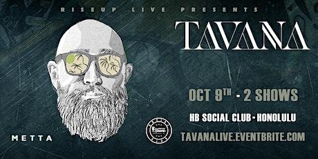 Tavana Live tickets