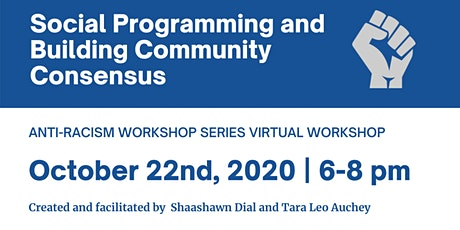 Social Programming and Building Community Consensus  ~ Virtual Workshop tickets
