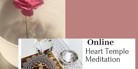 Heart Temple Meditation ~ Monday Mornings (online) tickets